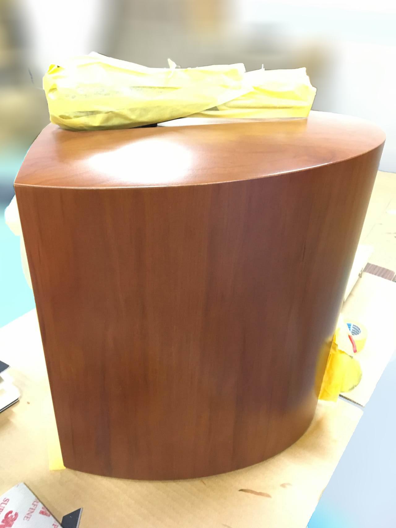 B&W スピーカー補修画像②