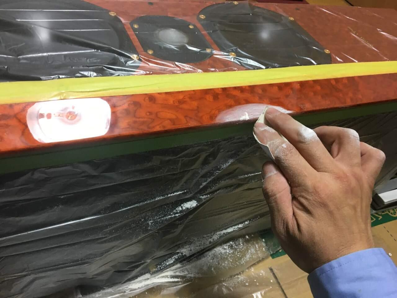 スイス製スピーカー補修画像②